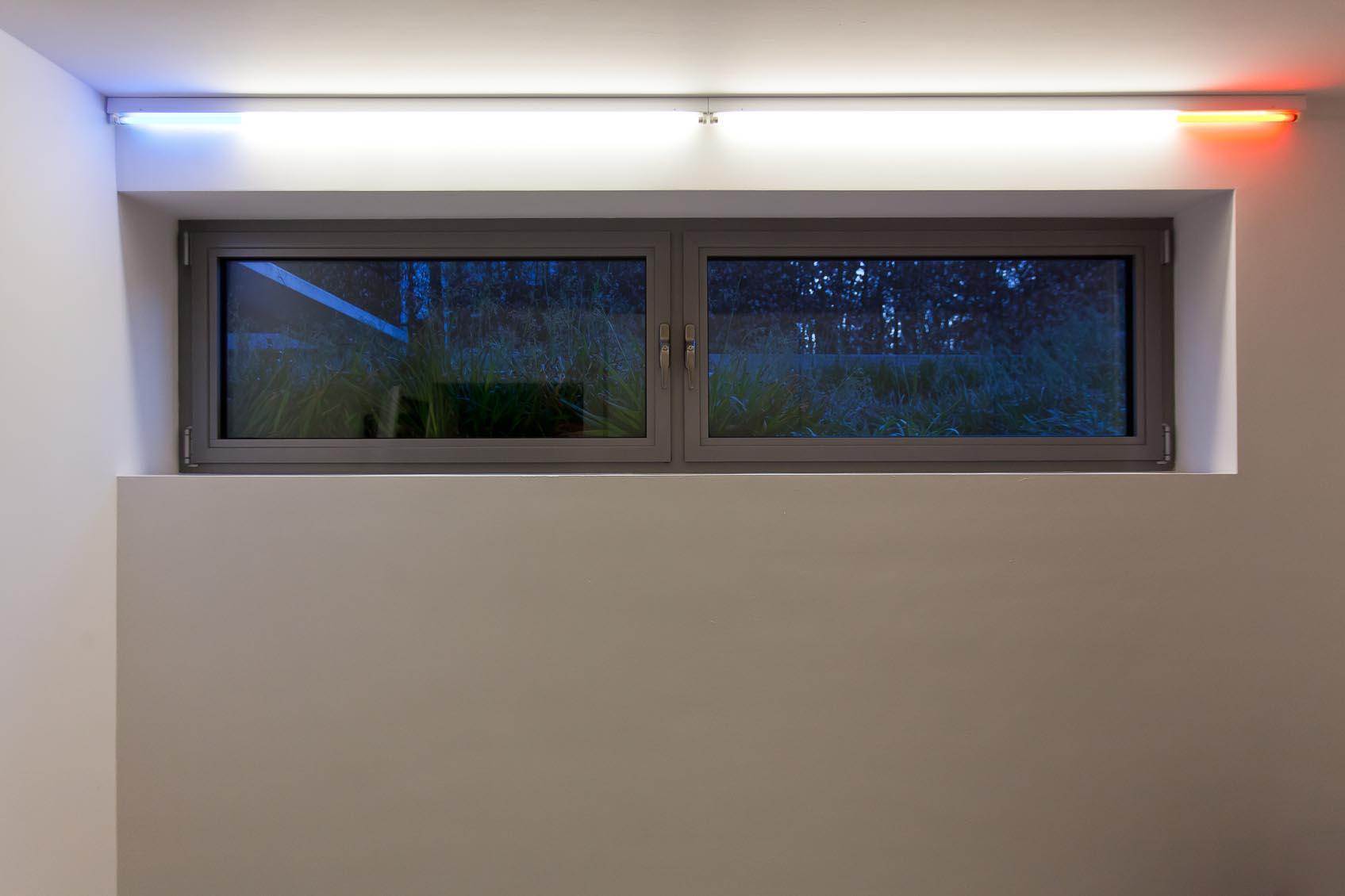 licht architecturaal kleur accent