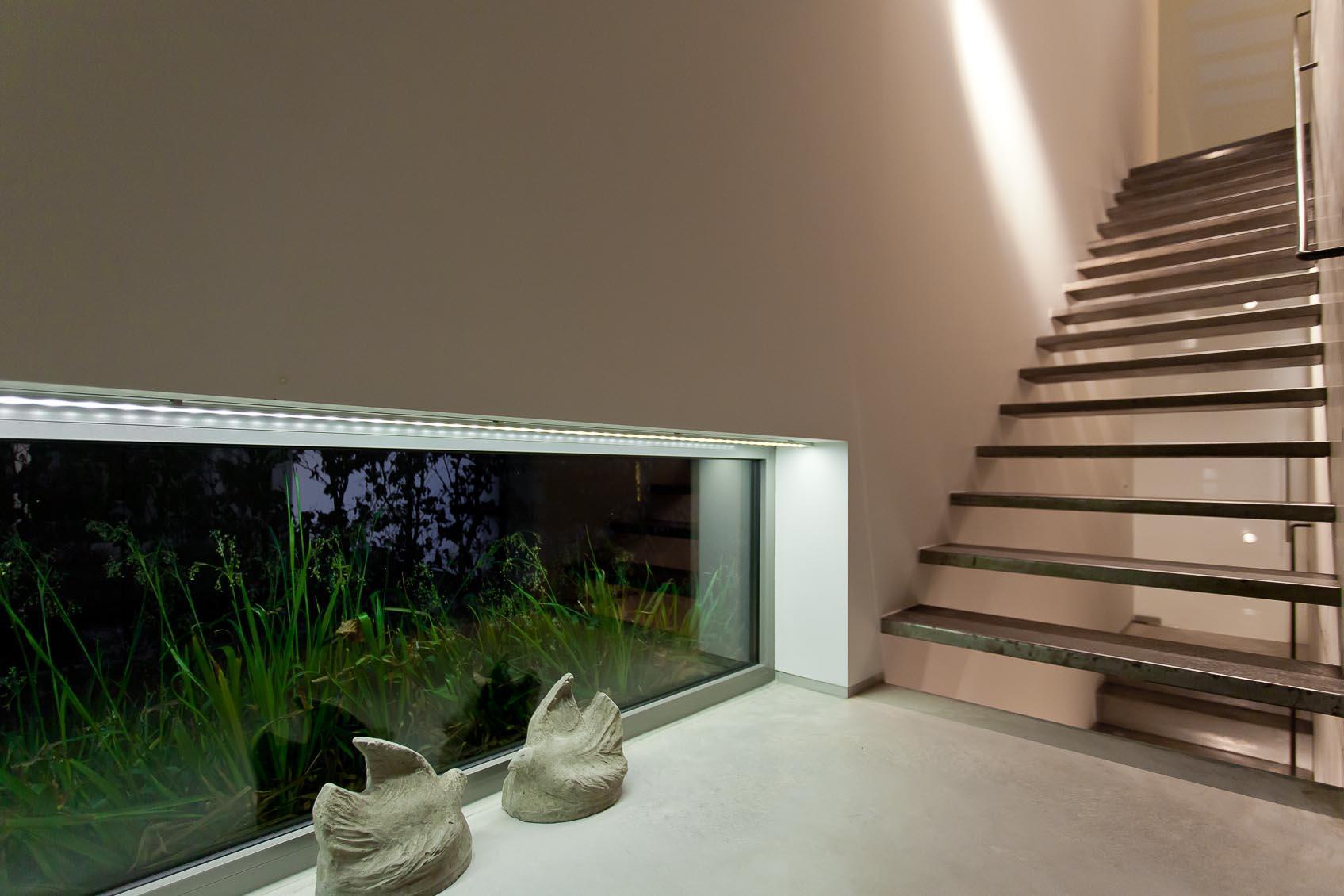 lichtconcept in moderne woning
