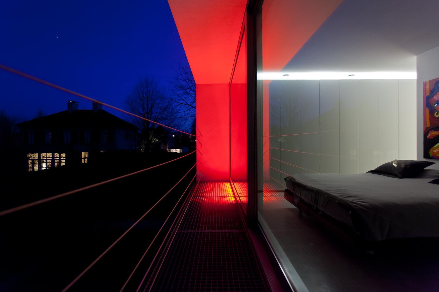 waterdichte TL met gekleurd licht
