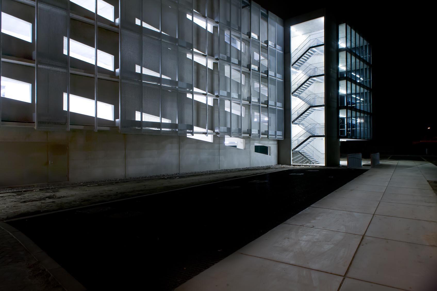 lichtarchitectuur met ledverlichting