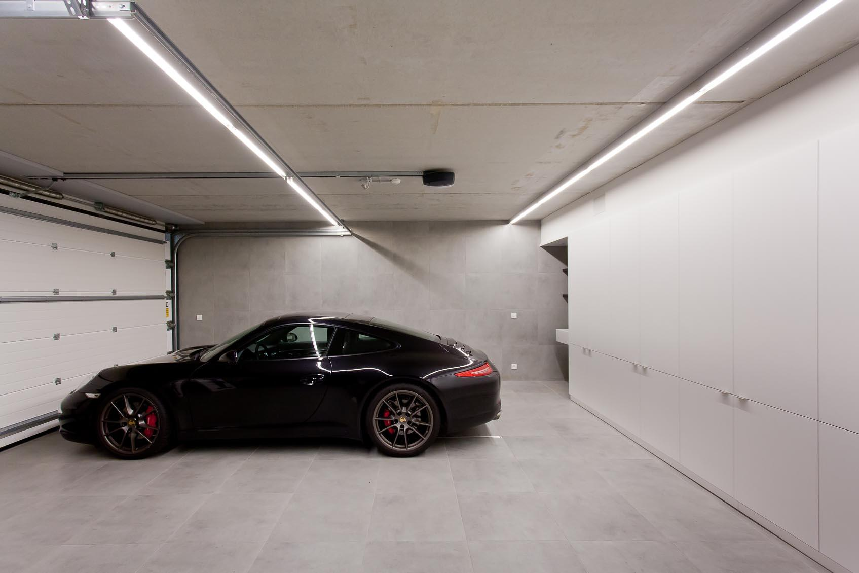 garage design verlichting
