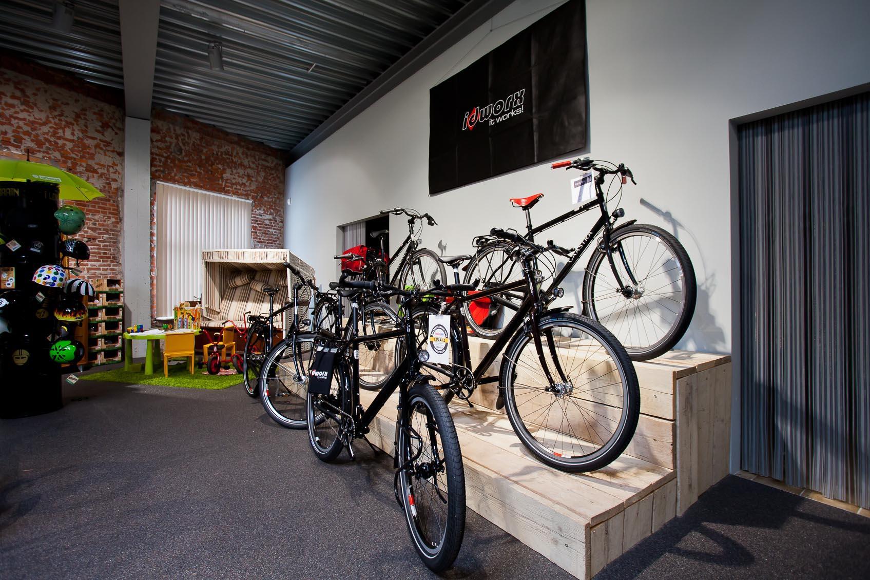 Lichtadvies voor fietsen winkel door lichthuis mol geeft juiste uitstraling