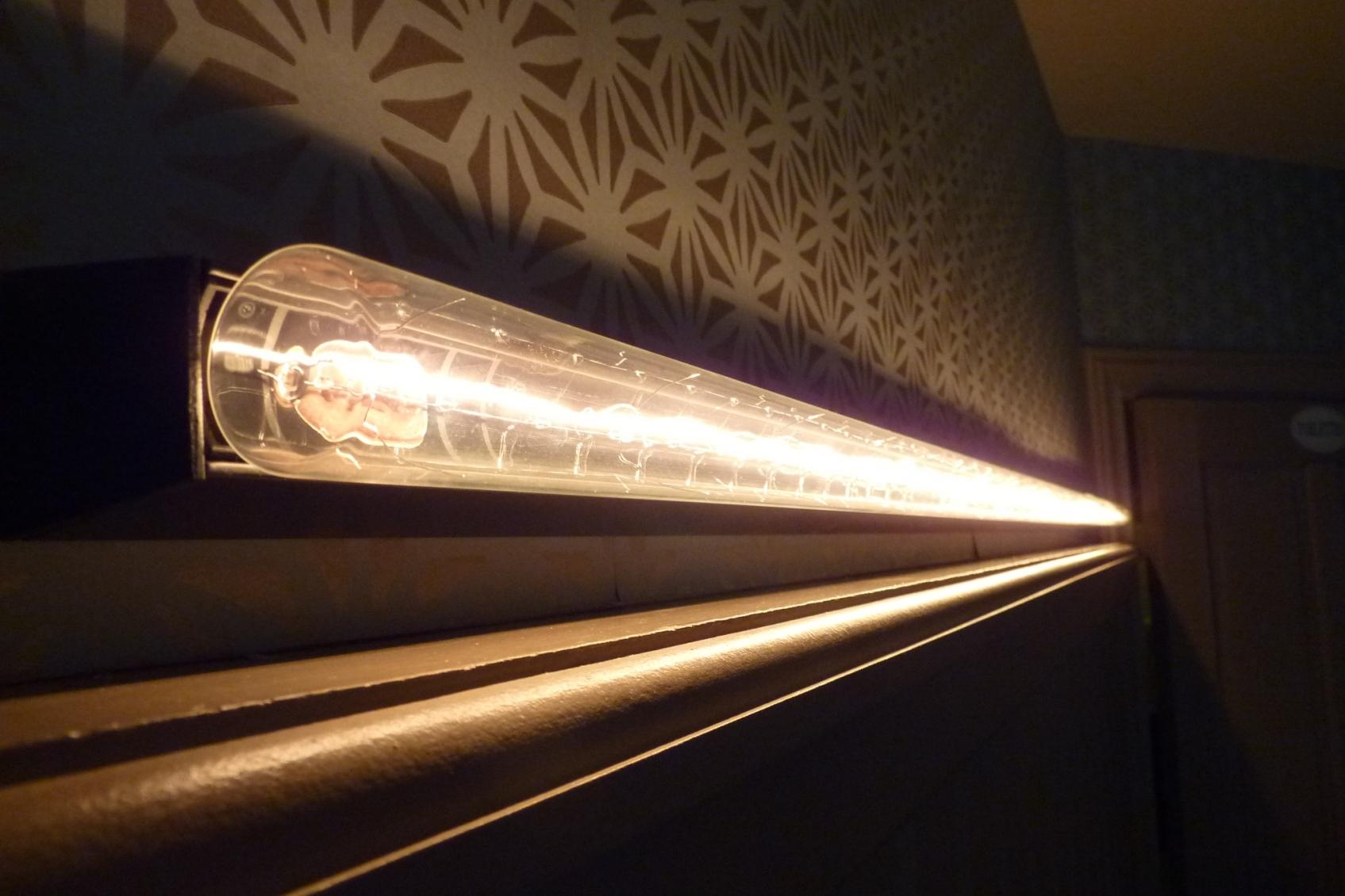 transparante linestra lichtarmatuur