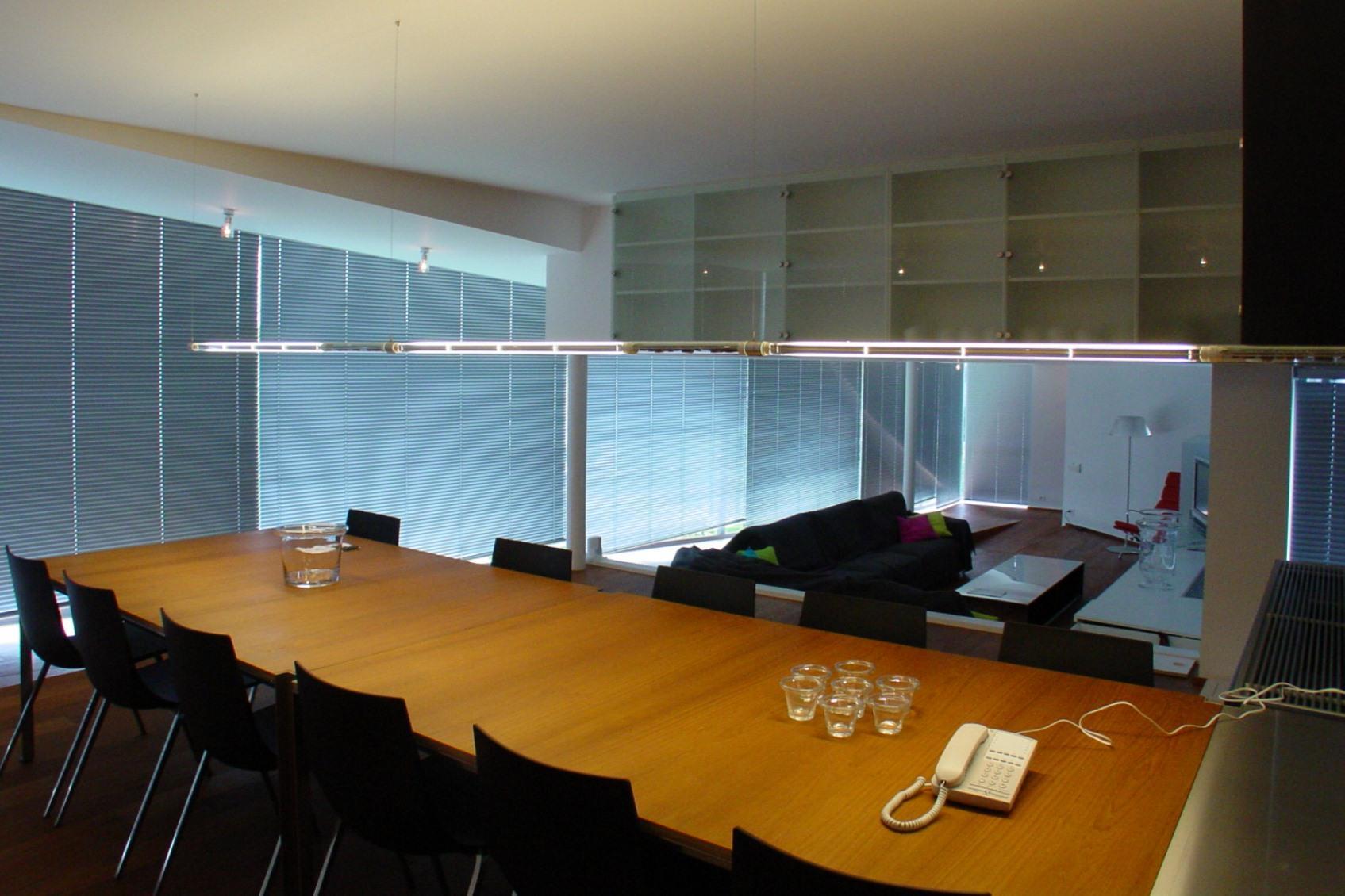 direct indirecte tafel verlichting