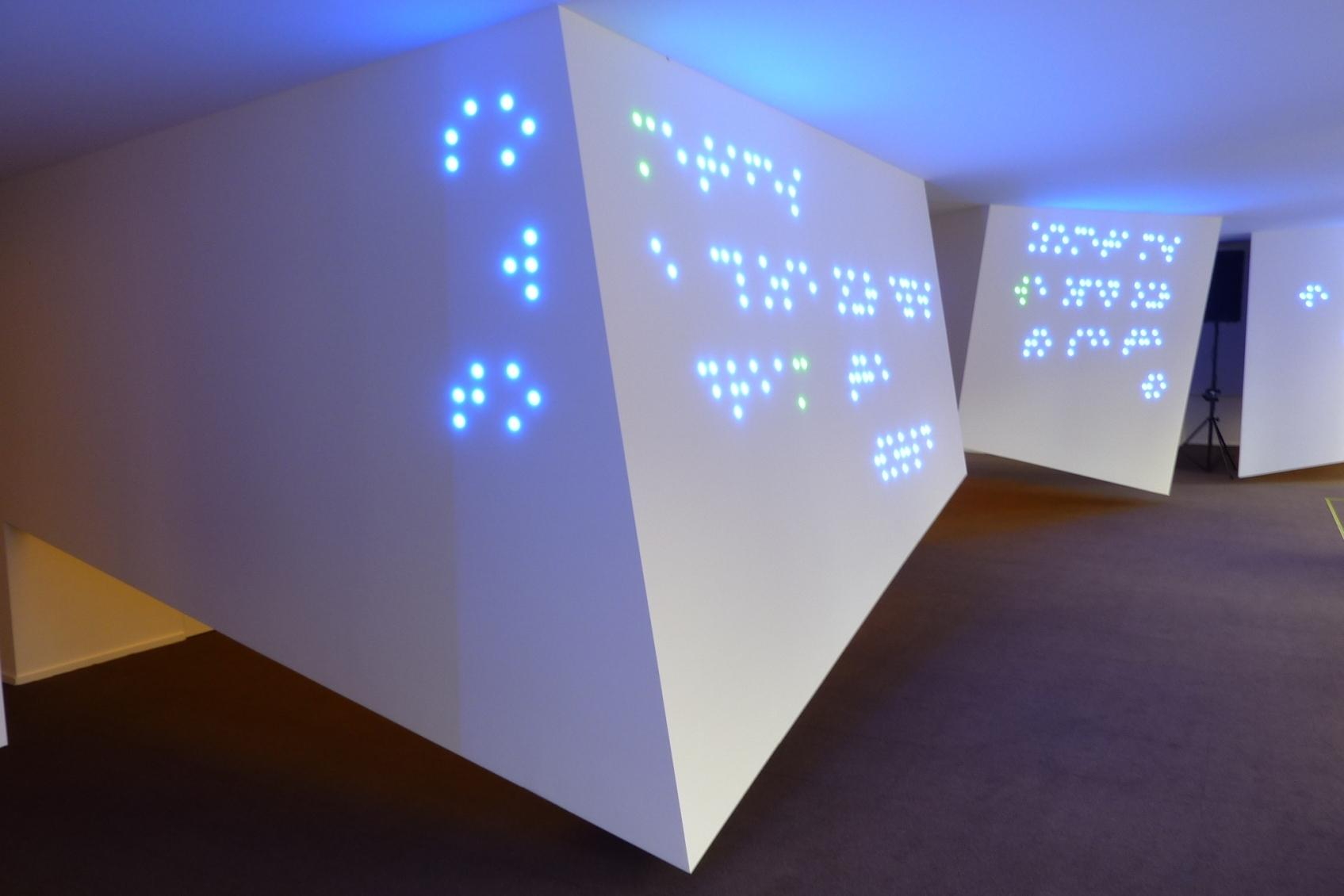 braille licht idee voor optiek