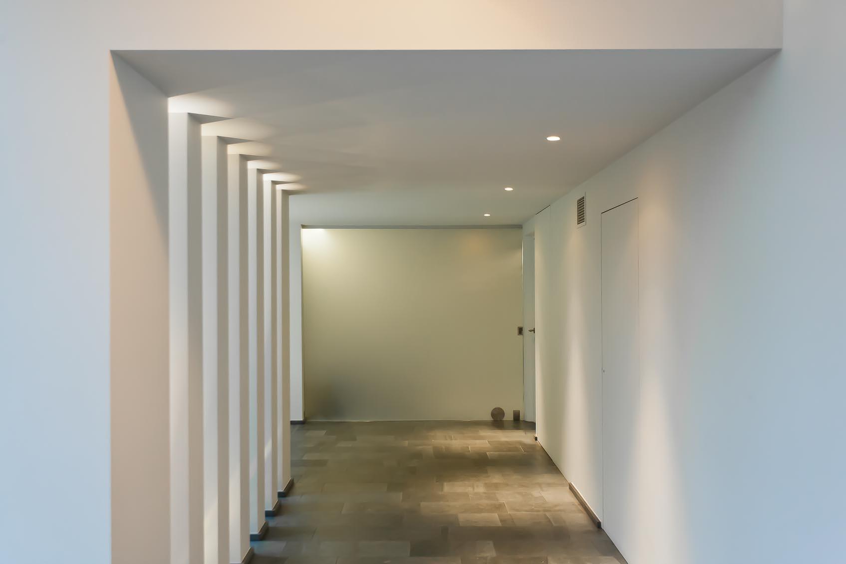 Het lichtconcept van Lichthuis Mol is ook in dit project creatief met daglicht en kunstlicht