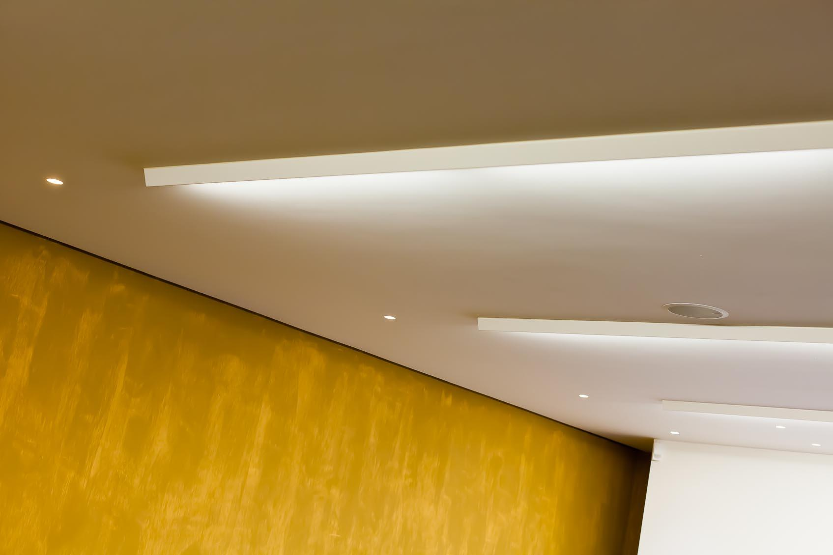 Maatwerk led verlichting naar ontwerp van Lichthuis Mol in lichtontwerp
