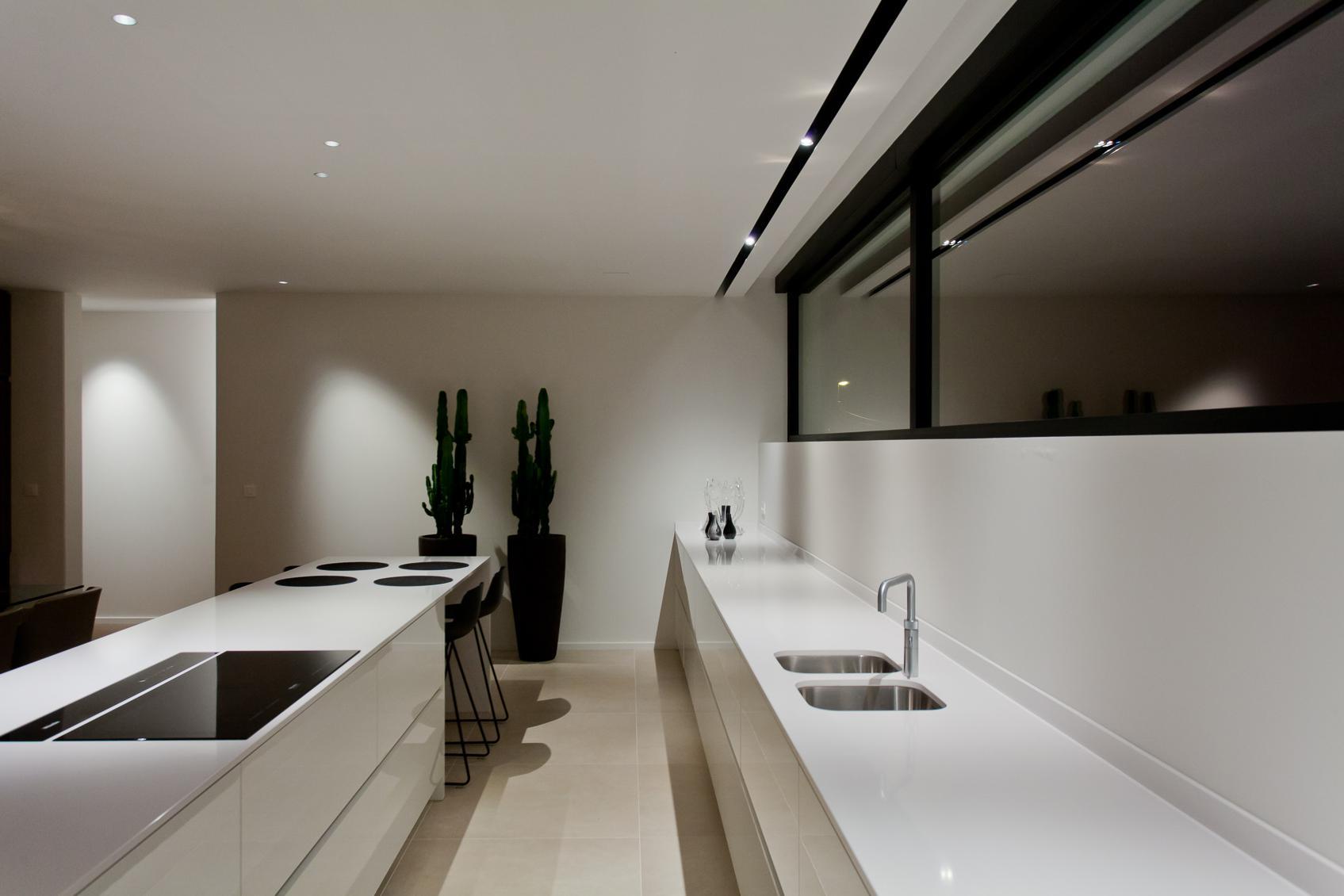 Lichtadvies voor de keuken van een kangoeroewoning