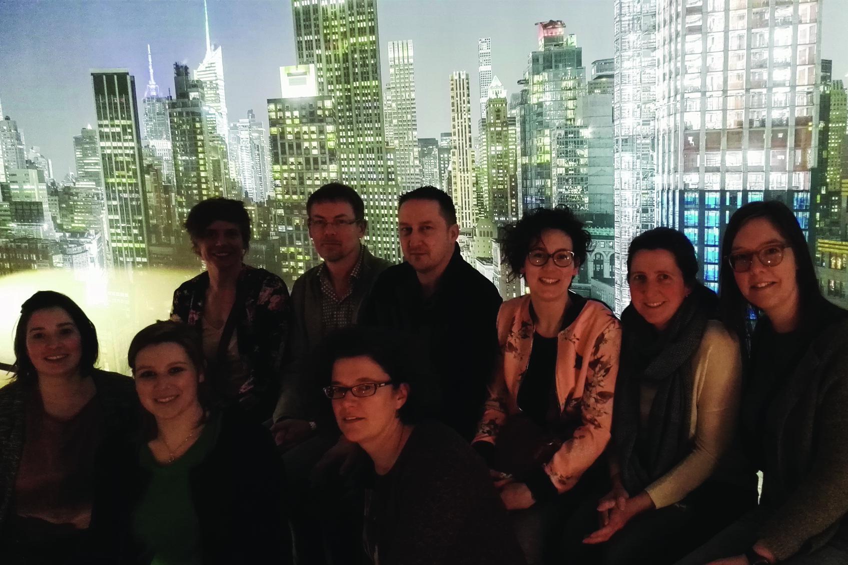 Team Lichthuis op bezoek bij Light + Building Frankfurt