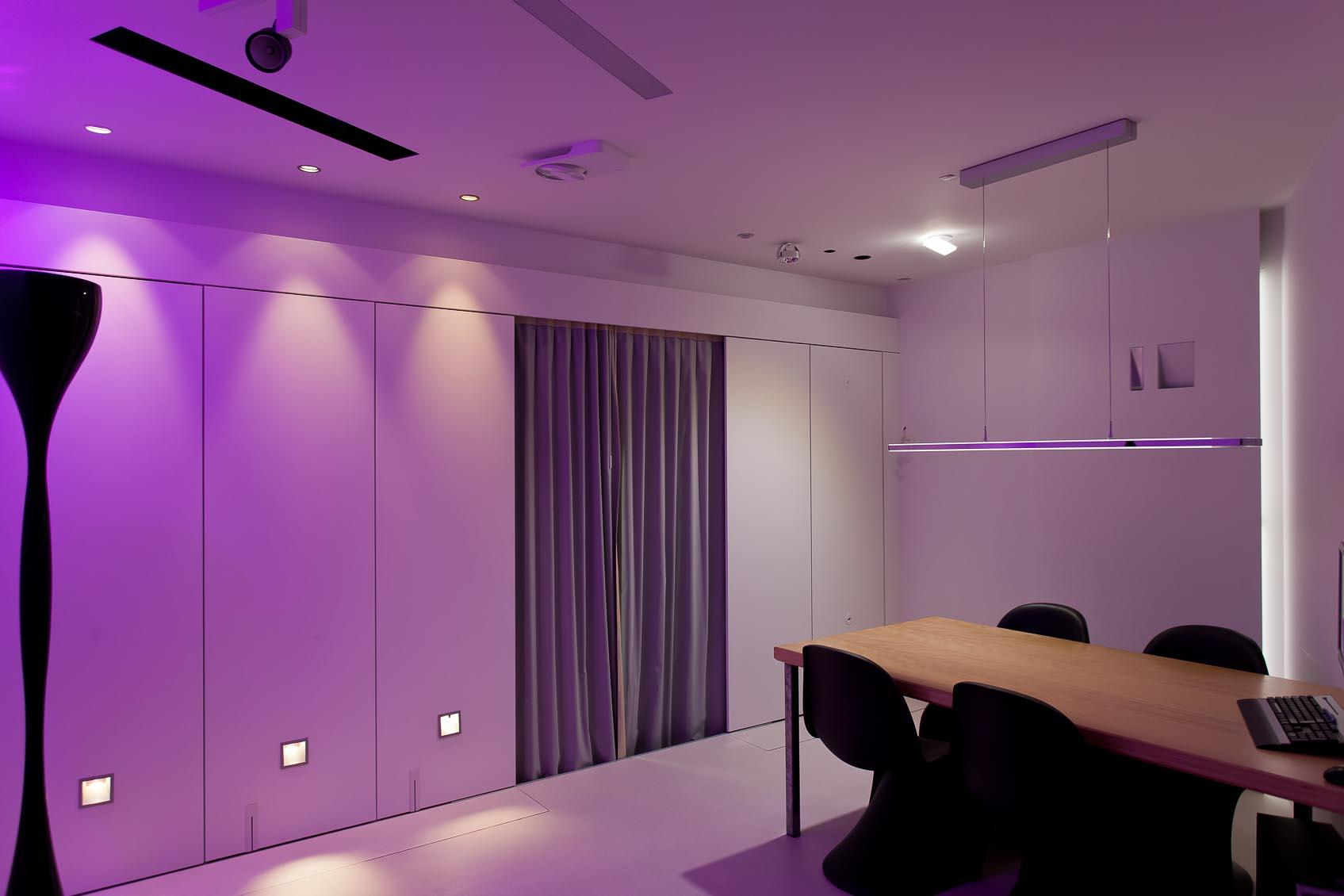 Beleef interieurverlichting in onze design lichtstudio7
