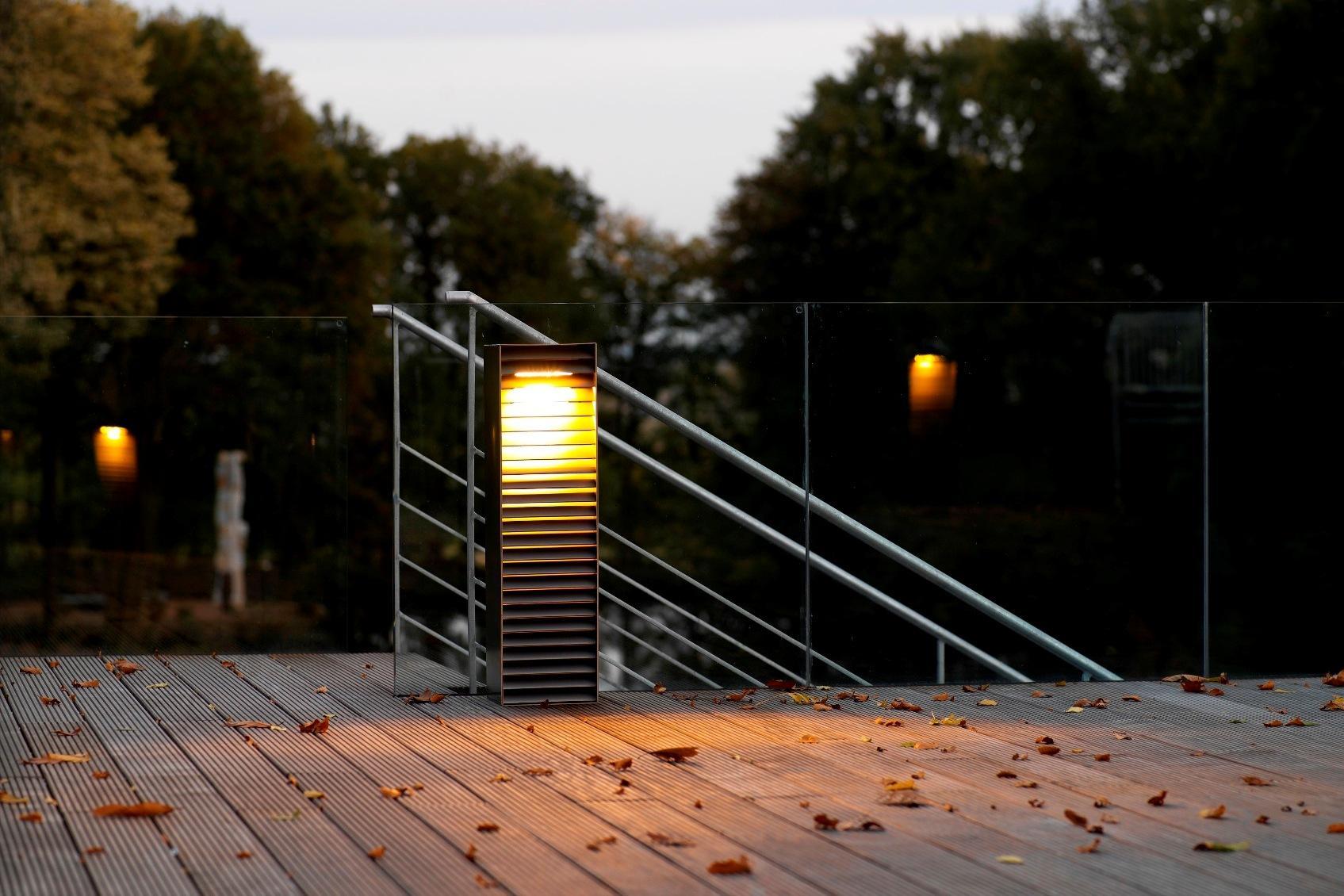 maatwerk tuinarmatuur licht met muzikbox