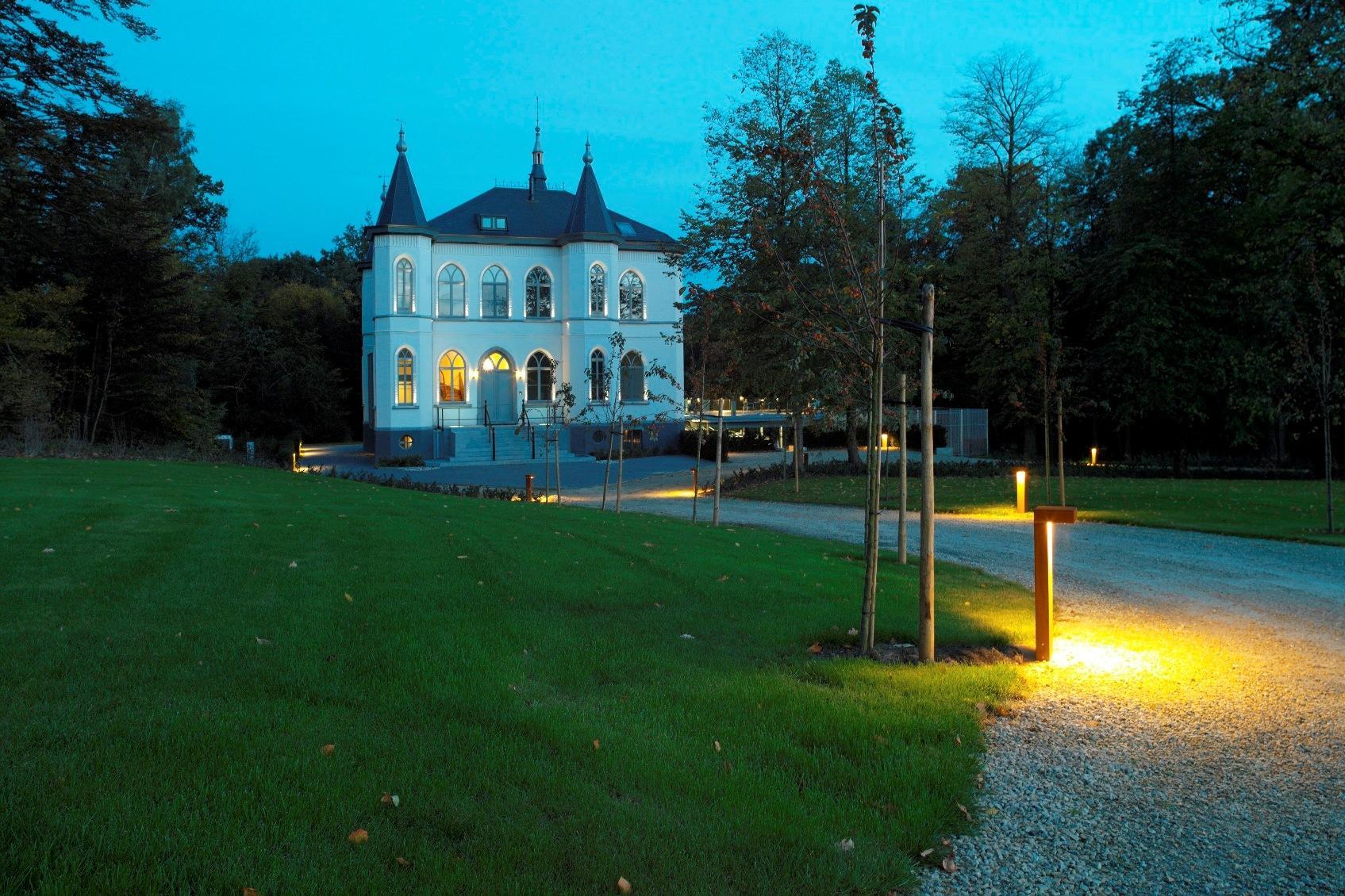buitenverlichting concept kasteel